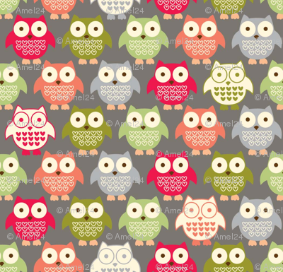 forest friends owls