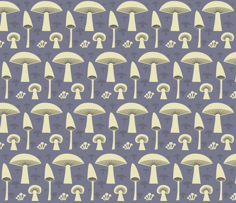 mush_grey fabric by antoniamanda on Spoonflower - custom fabric