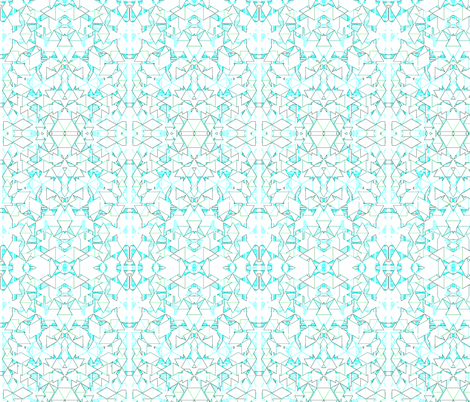Geometric Grid  fabric by robin_rice on Spoonflower - custom fabric
