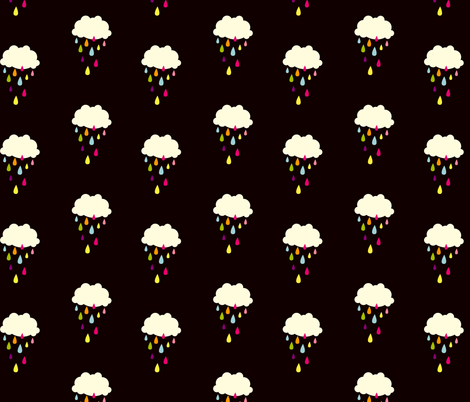 Colour Cloud fabric by hamburgerliebe on Spoonflower - custom fabric