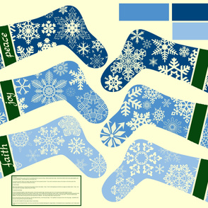 Snowflake Stockings