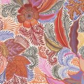 Jungle Phantasies brown-pink-orange