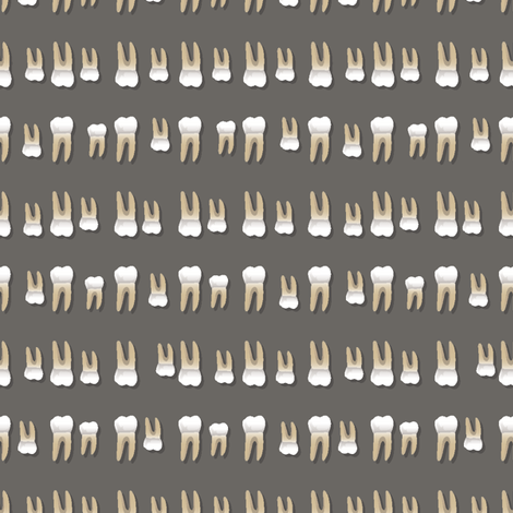 Chompy Bits fabric by kahoxworth on Spoonflower - custom fabric