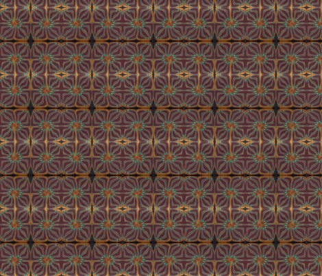 Pharoah's palace fabric by treasunique on Spoonflower - custom fabric