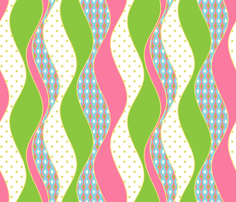 Twisted Stocking - Baby fabric by inscribed_here on Spoonflower - custom fabric