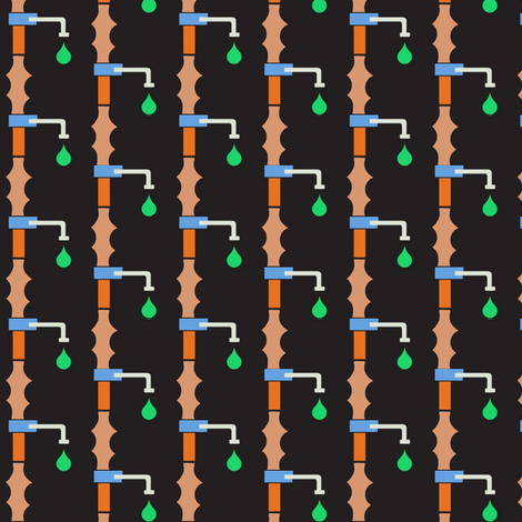 Plumbing fabric by boris_thumbkin on Spoonflower - custom fabric