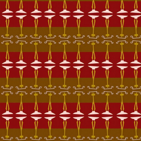 Art-Deco Wallpaper fabric by boris_thumbkin on Spoonflower - custom fabric