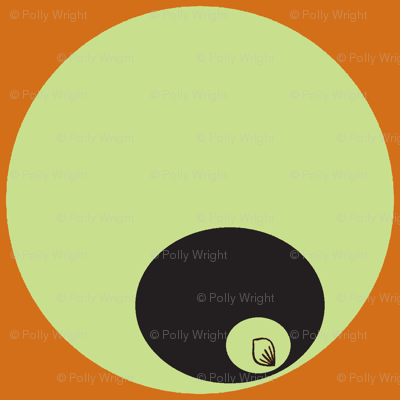 circle in circle orange you green