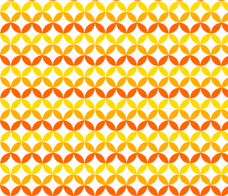 Yellow Trellis fabric by carinaenvoldsenharris on Spoonflower - custom fabric