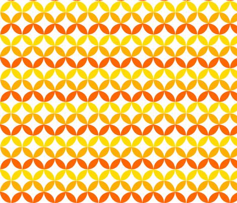 Yellow Trellis fabric by carinaenvoldsenharris on Spoonflower - custom fabric
