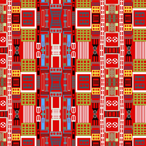 Cinecitta fabric by boris_thumbkin on Spoonflower - custom fabric