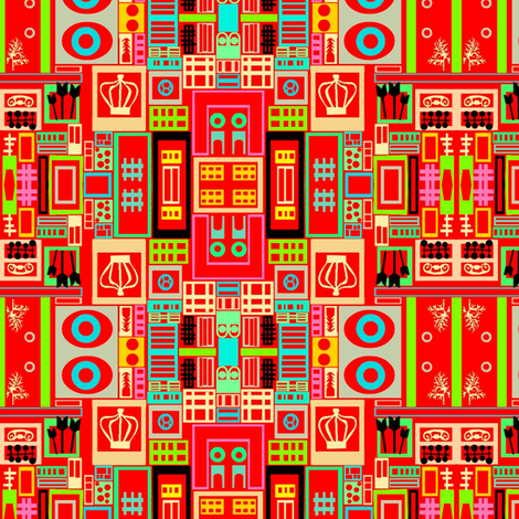 Palace Gates fabric by boris_thumbkin on Spoonflower - custom fabric