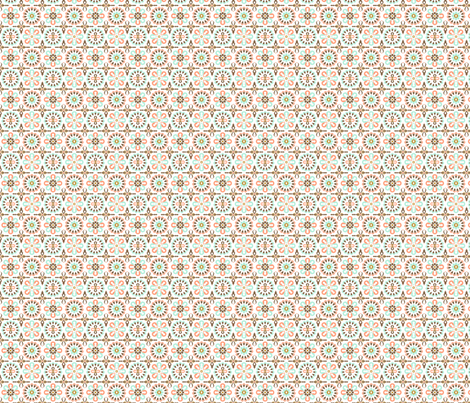 floral coral delight fabric by nadiahassan on Spoonflower - custom fabric