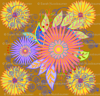 Floral Pillow-b