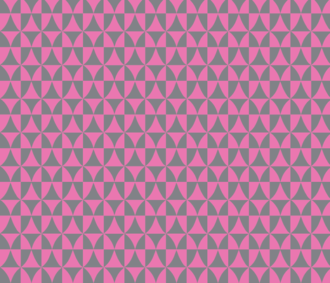 pink diamond window fabric by lola_designs on Spoonflower - custom fabric