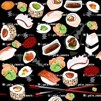 Sushirific Sushi Fabric