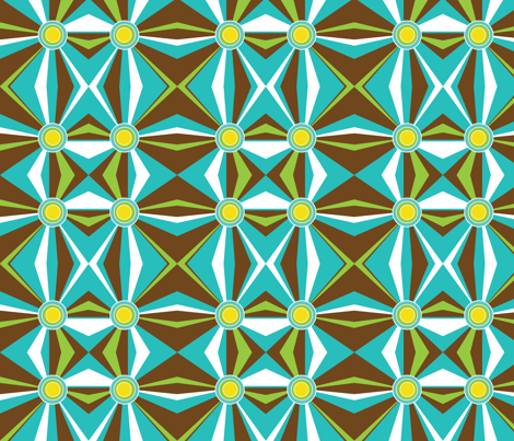 retro fabric by eedeedesignstudios on Spoonflower - custom fabric