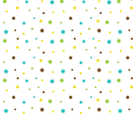 Sparks fabric by eedeedesignstudios on Spoonflower - custom fabric