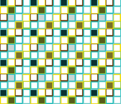 squares fabric by eedeedesignstudios on Spoonflower - custom fabric