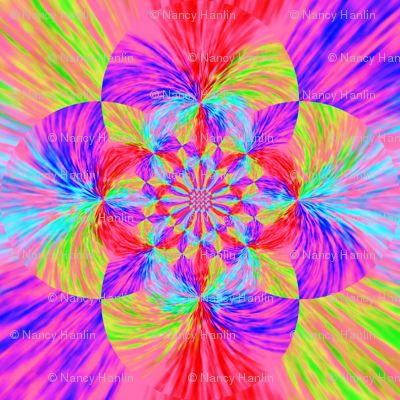 Kaleidoscope flower
