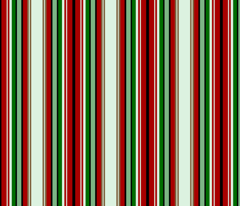 candy forest stripe fabric by paragonstudios on Spoonflower - custom fabric