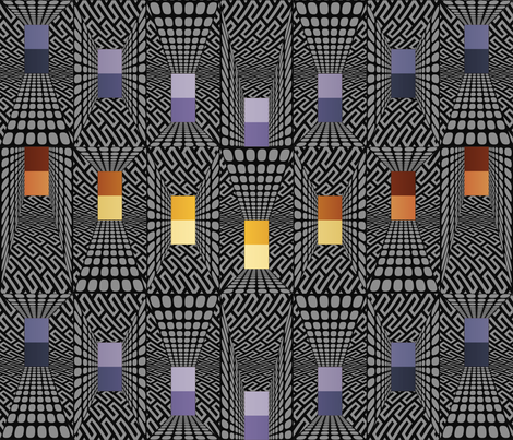 Doctor Huh? fabric by ormolu on Spoonflower - custom fabric