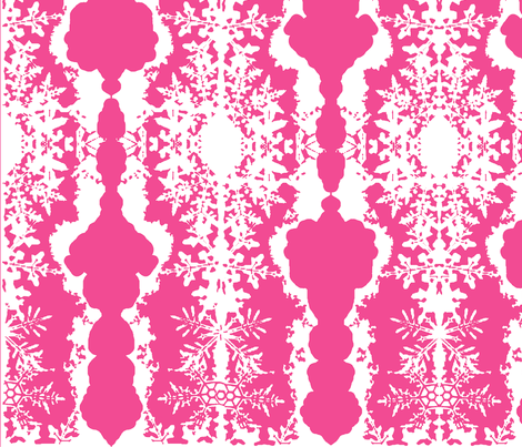 Pink Lace fabric by robin_rice on Spoonflower - custom fabric
