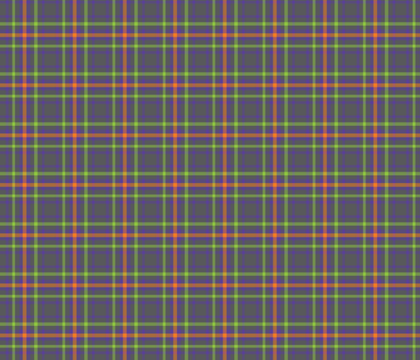 Gamer Plaid 1 fabric by modgeek on Spoonflower - custom fabric