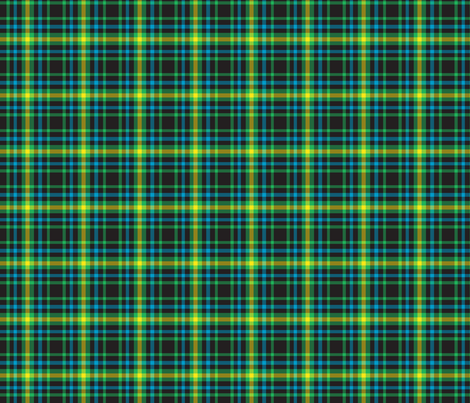 Gamer Plaid 3 fabric by modgeek on Spoonflower - custom fabric
