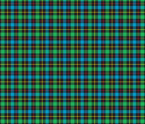 Gamer Plaid 4 fabric by modgeek on Spoonflower - custom fabric
