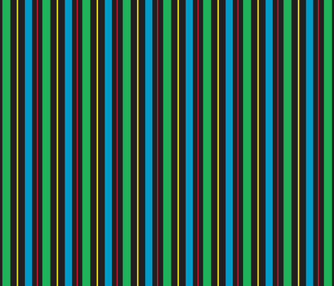 Gamer Stripe 4 fabric by modgeek on Spoonflower - custom fabric