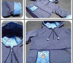 Blue Retro-Owl