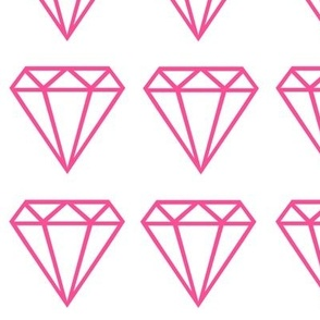 Diamond large pink