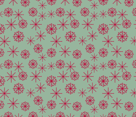 red stars 2 fabric by suziedesign on Spoonflower - custom fabric