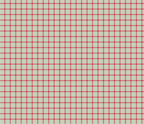 Red and green plaid fabric by suziedesign on Spoonflower - custom fabric