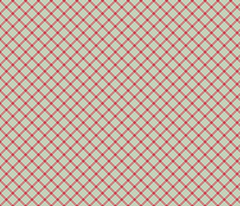 red green plaid 2 fabric by suziedesign on Spoonflower - custom fabric