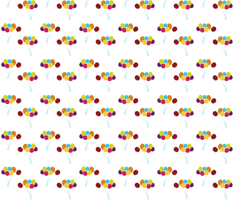 Balloons fabric by newmom on Spoonflower - custom fabric