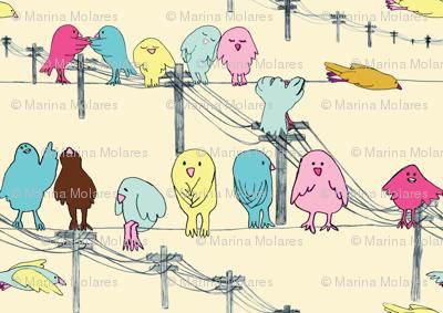 love doves pastel