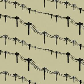 metal trees