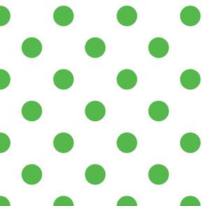 Christmas dots (white)