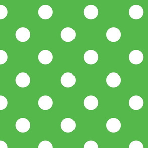 Christmas dots (green)