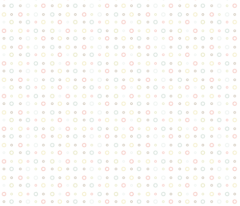 little_flowers2 fabric by eedeedesignstudios on Spoonflower - custom fabric