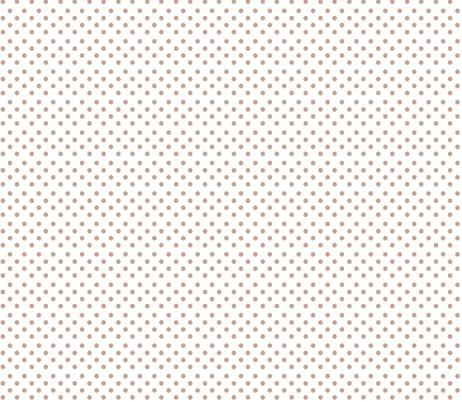 Polkadots in Mushroom fabric by delsie on Spoonflower - custom fabric