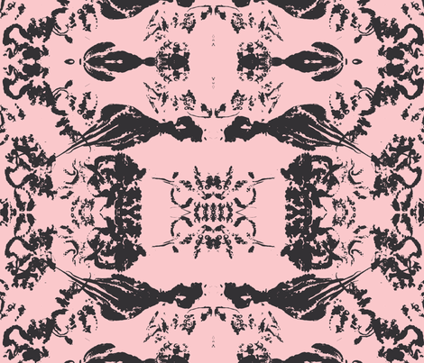octopus@pink fabric by arteija on Spoonflower - custom fabric