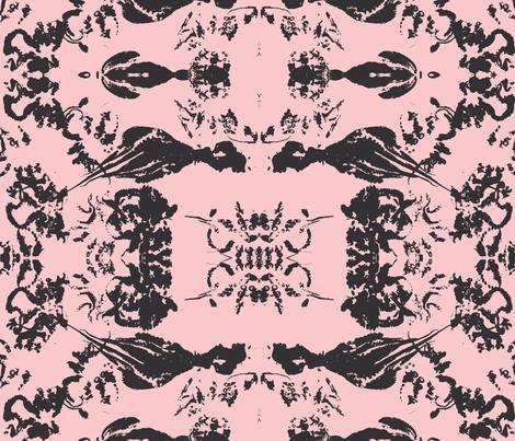 octopus@pink fabric by arteija on Spoonflower - custom fabric
