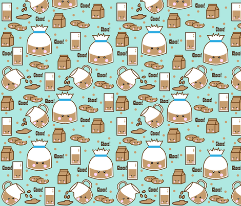 Choco! fabric by beii on Spoonflower - custom fabric