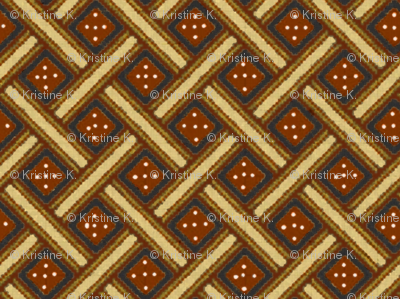 African Weave ('Redware')