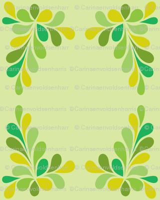 Green Swirl Frame