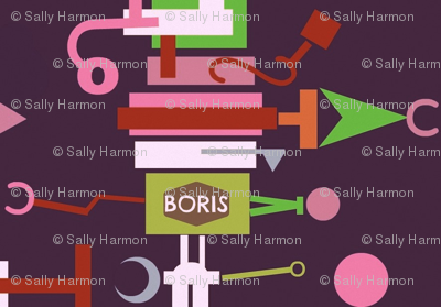 Boris,the Top-Heavy Fix-It Robot