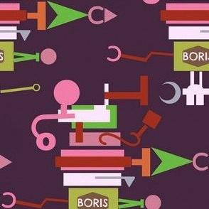 Boris,the Top-Heavy Fix-It Robot